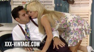 Tiffany Million vintage blonde pornstar sex